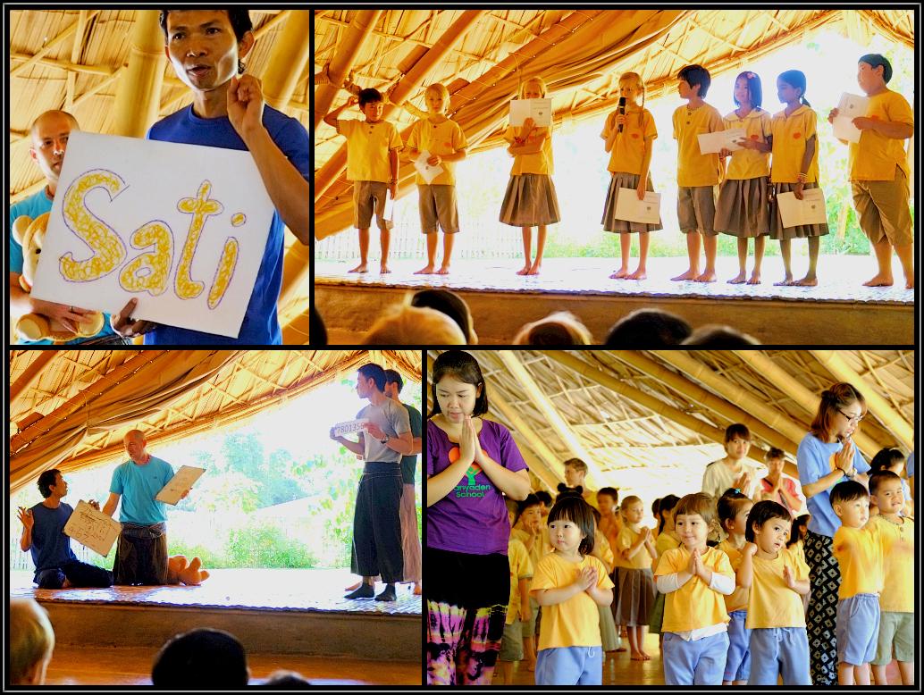 Wise Habit Sati session at Panyaden School Chiang Mai