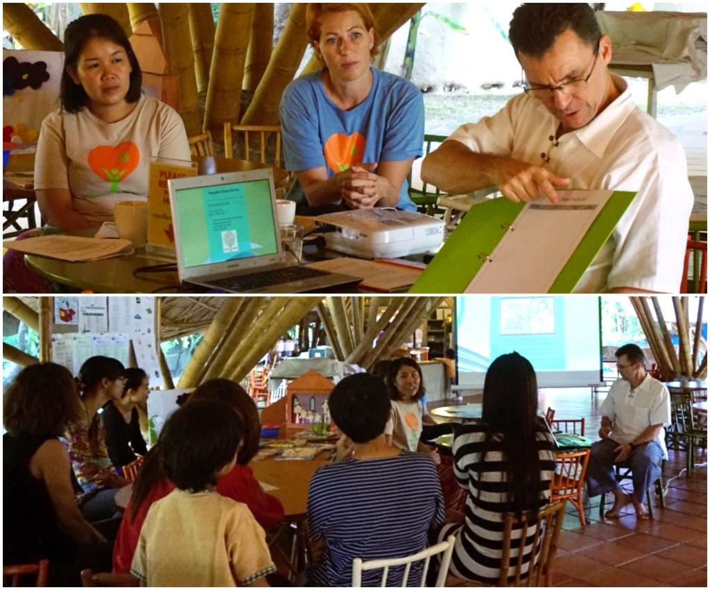 Parent workshop on encouraging reading among young children, Panyaden School