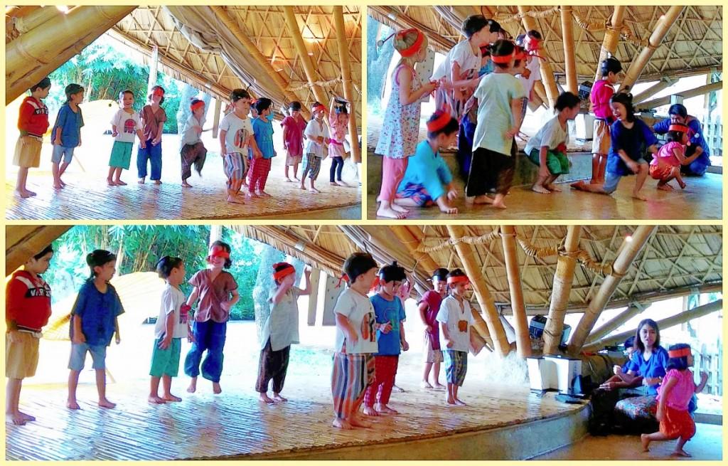 Kindergarten 1 Ant dance, Panyaden School