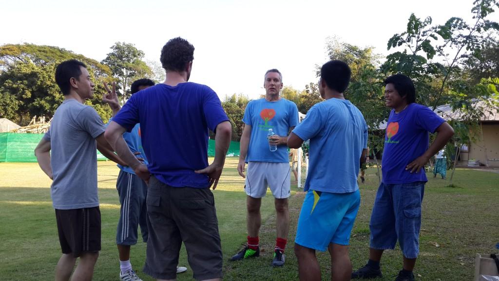 Panyaden teachers' football team