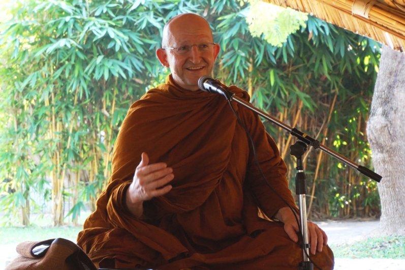 Venerable Ajahn Amaro's dhamma talk at Panyaden School Chiang Mai
