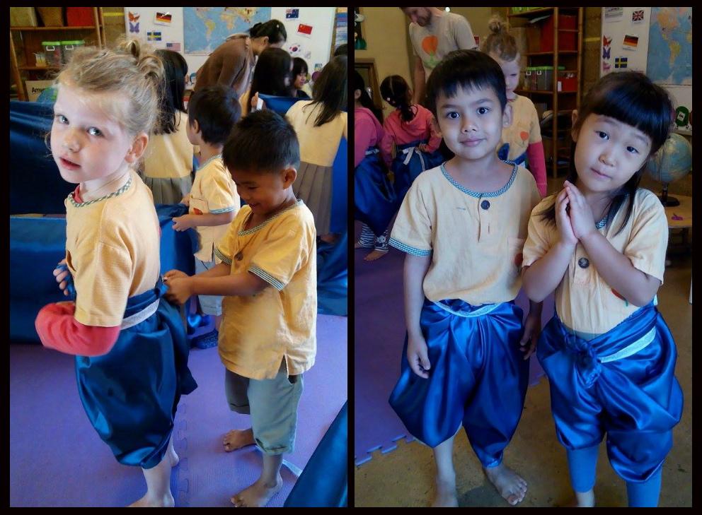 Kindergarten 2 in Thai costume, Panyaden School
