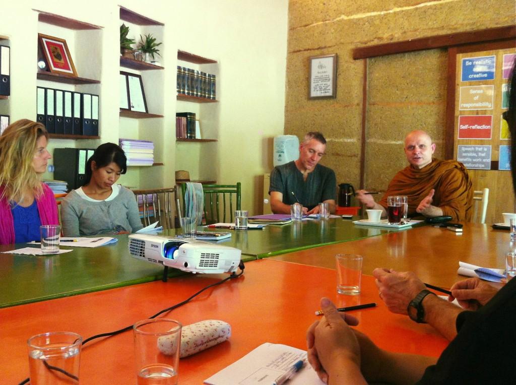 Panyaden teachers' woshop with Ven. Ajahn Jayasaro