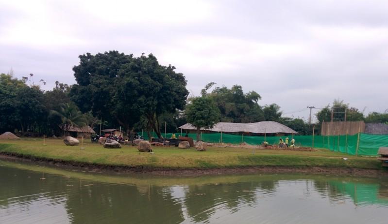 New classroom building in progress, Panyaden School Chiang Mai