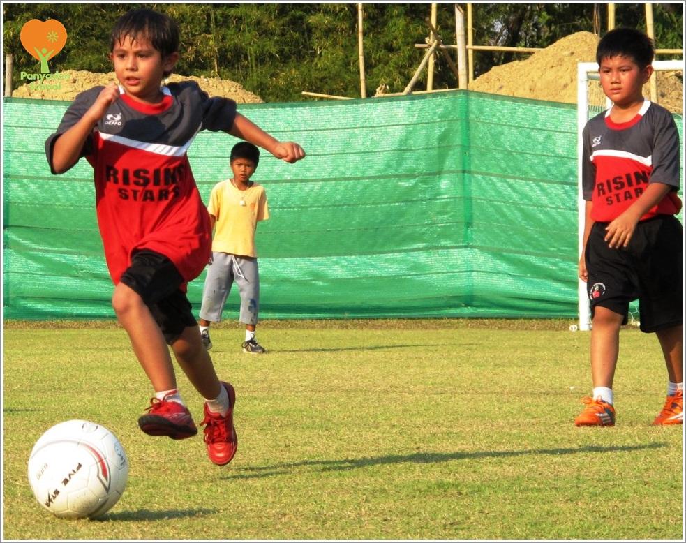 Panyaden School football match 5 Mar 2015