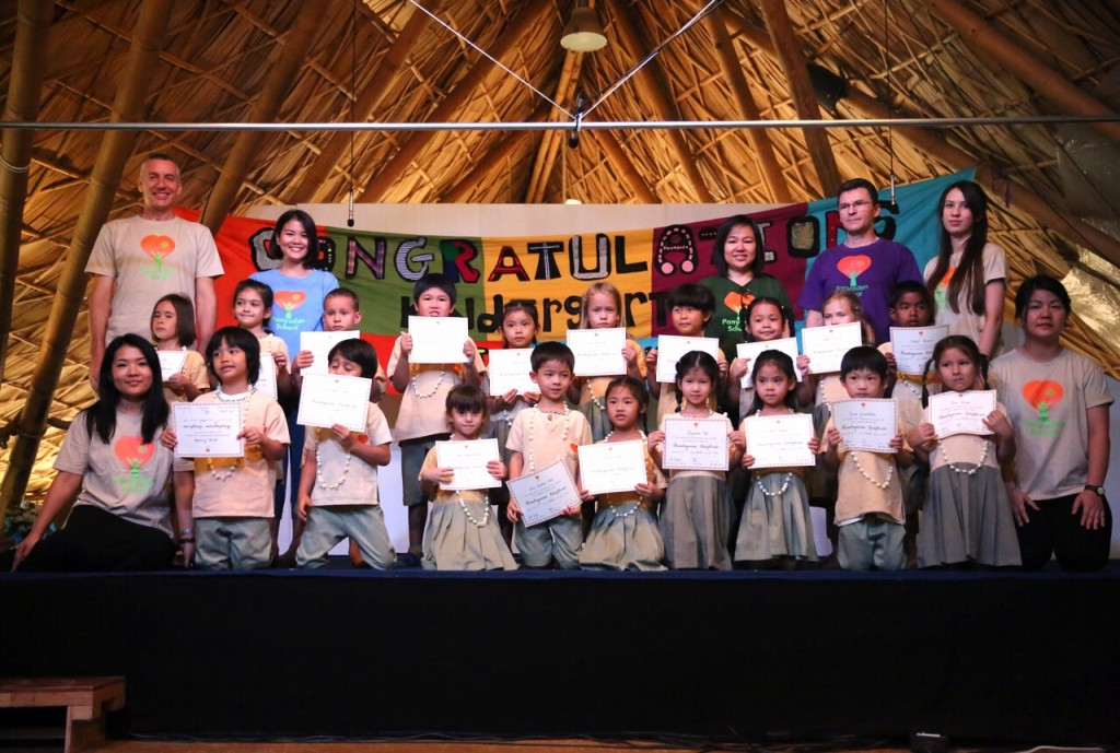 IMG_3020 Graduating Kindergarten 3 students, Panyaden Blossom Day 2015