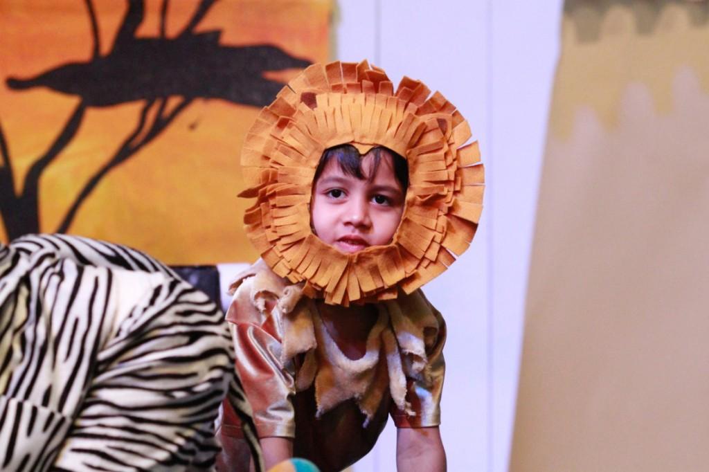 _MG_0114 Student lion!, Panyaden Blossom Day 2015