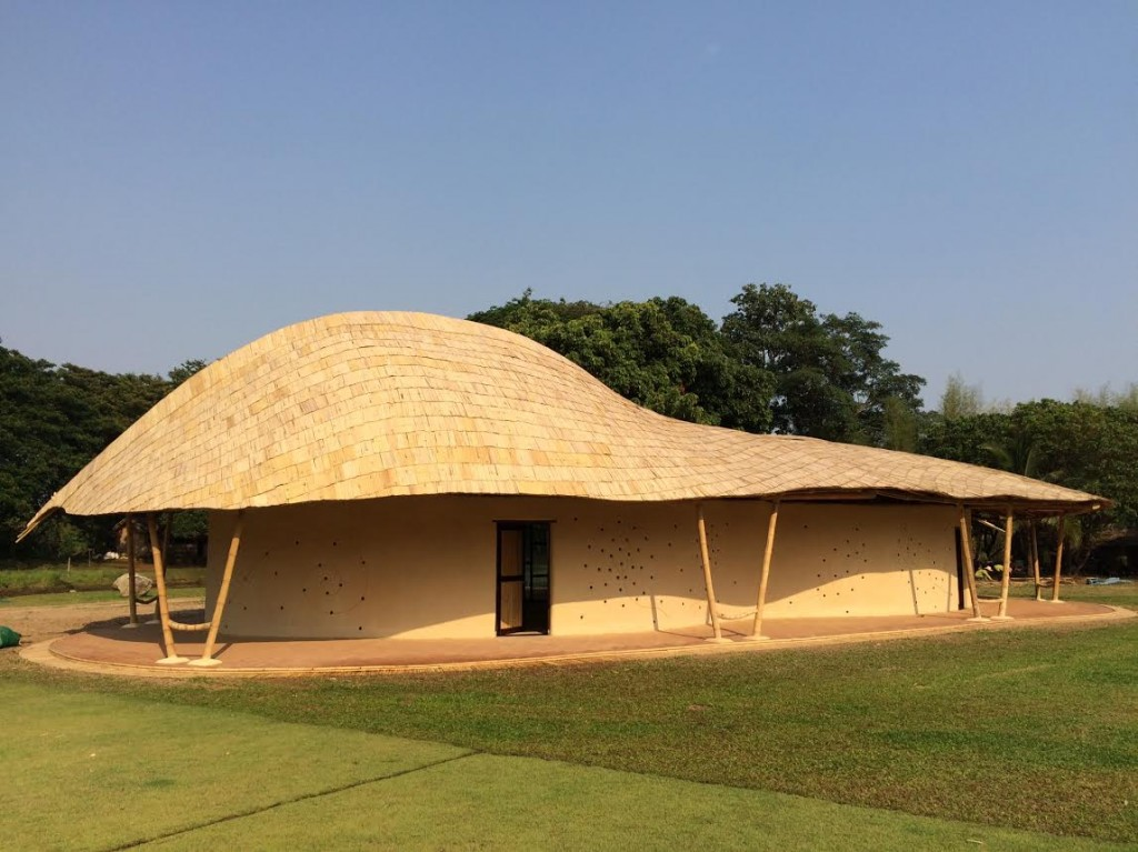 Panyaden School Chiang Mai's new bamboo and earth classrooms