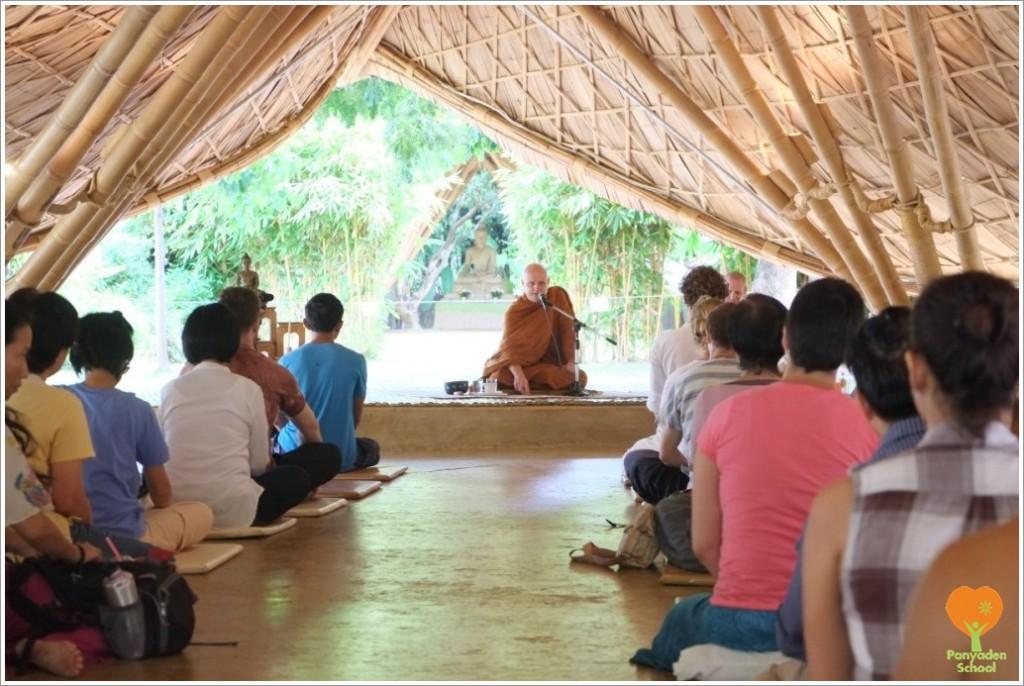 DSCF5593 Dealing with Anger Dhamma Talk at Panyaden
