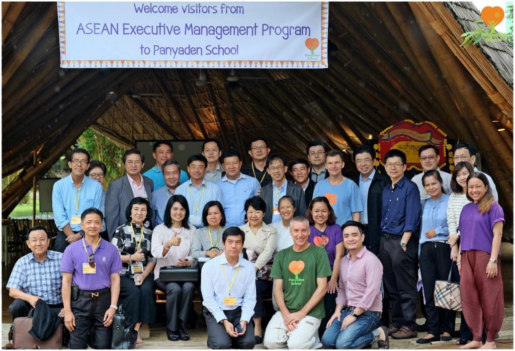DSCF9401 ASEAN Executive Management Program delegation with Panyaden School team