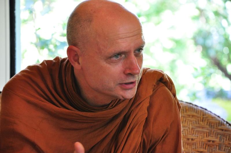 DSC_1404 Ven. Ajahn Jayasaro at Panyaden School in Chiang Mai