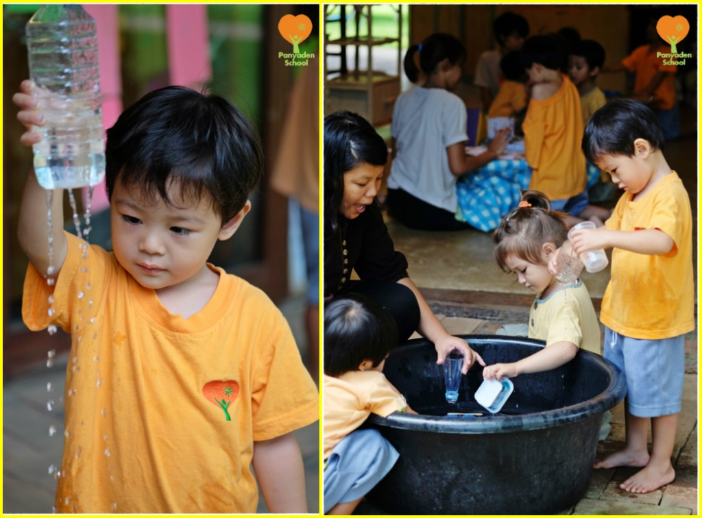 K1 (Kindergarten 1) water experiment, Panyaden School