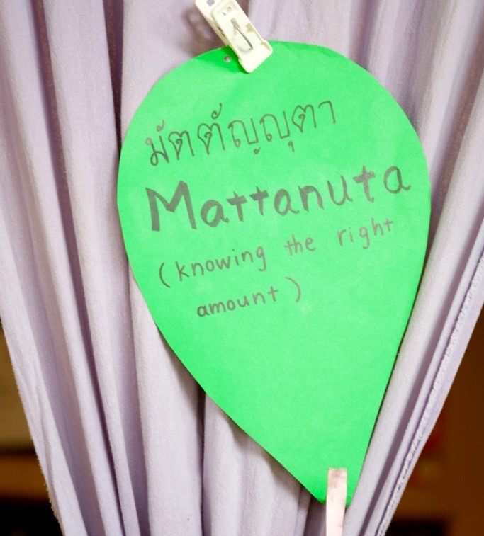 DSCF3253 Panyaden School wise habit, Mattanuta (knowing the right amount)