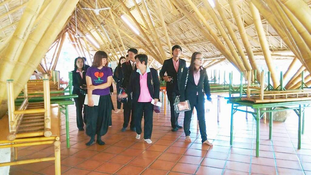 Teachers & staff from Demonstration School (Rajaphat University) visiting Panyaden School in Chiang Mai