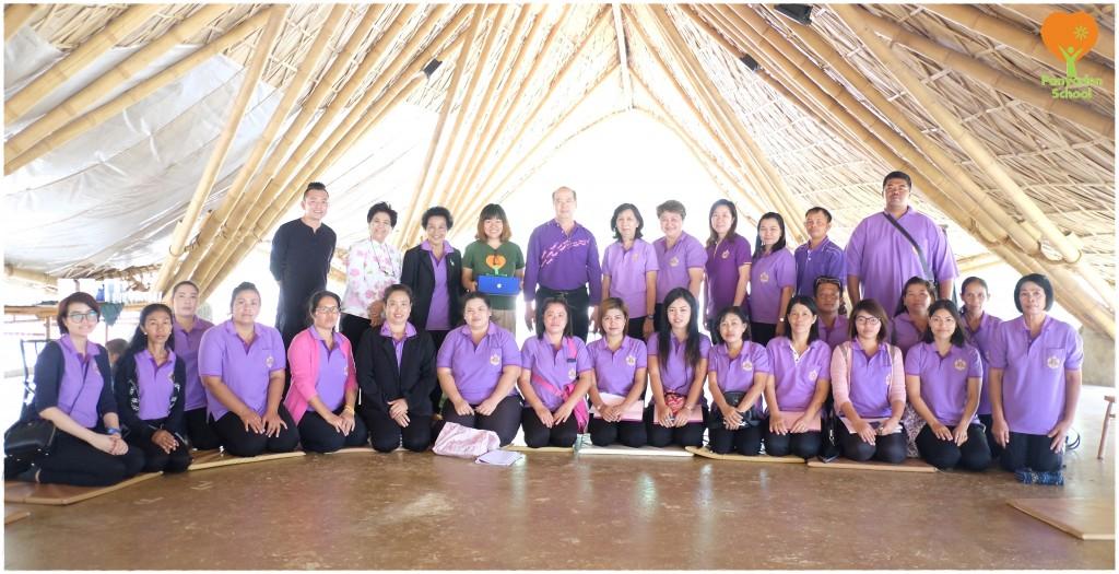 DSCF6800 Kindergarten teachers from Phra Nakhon Si Ayutthaya visit Panyaden School in Chiang Mai