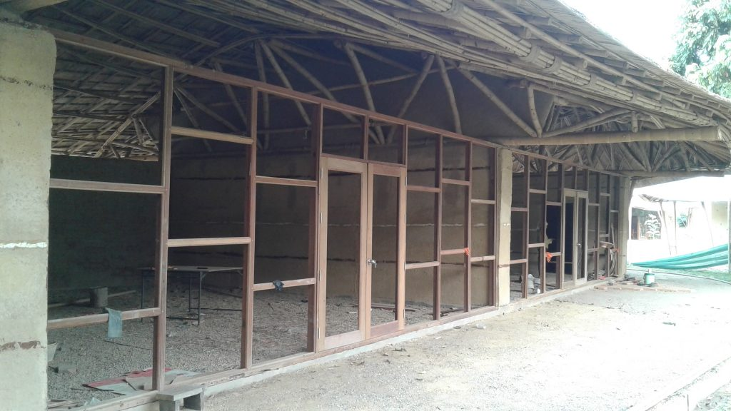 Our new classrooms are almost ready, Panyaden School