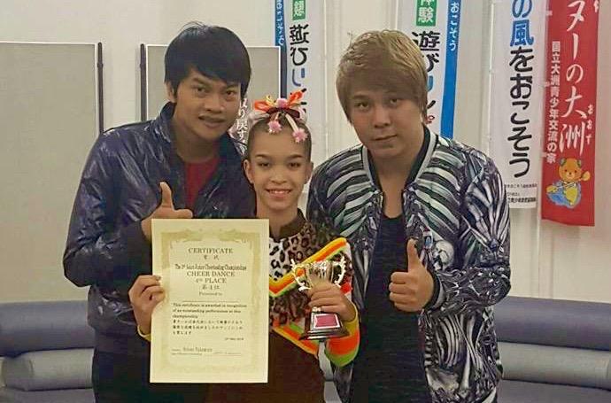 Panyaden School student with award in Tokyo