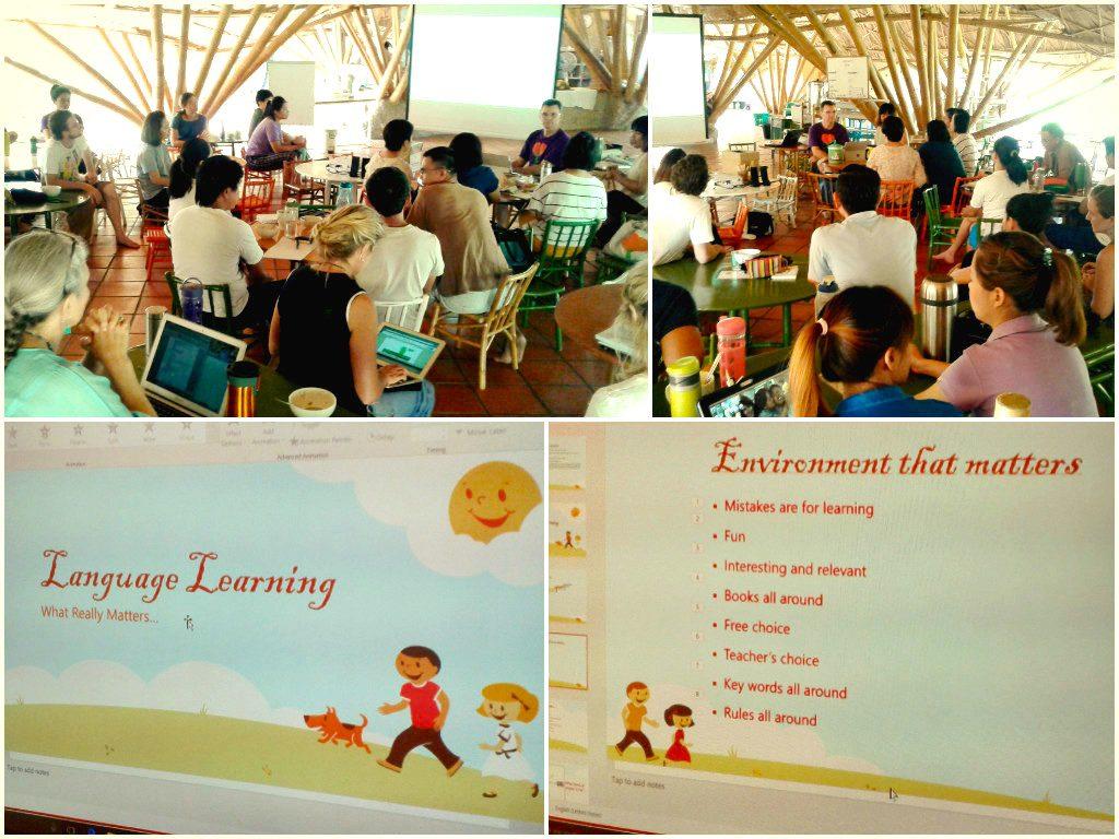 Panyaden teacher training and planning 2016