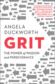 Grit by Angela Duckworth. Photo from NY Times Blog