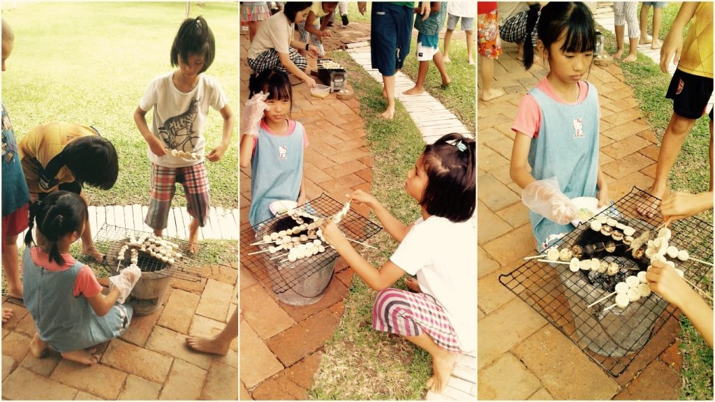 Panyaden School students explore heat producing alternatives at school in Chiang Mai