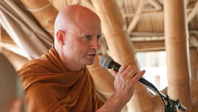 Ven.Ajahn Jayasaro at Panyaden International School Chiang Mai