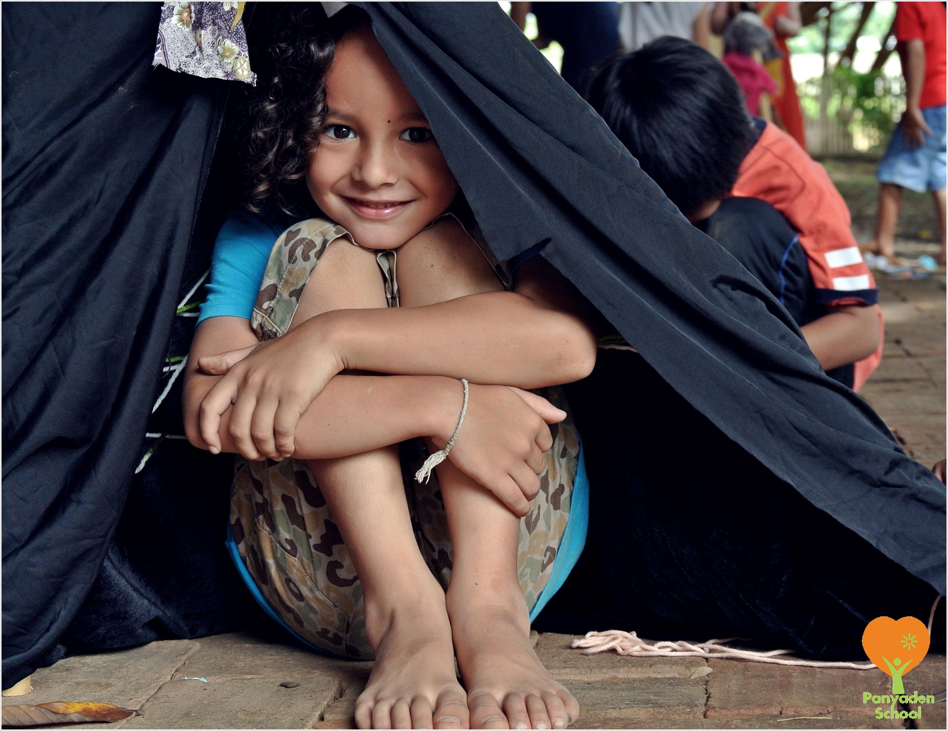 DSC_3961 Panyaden School student in her tent!