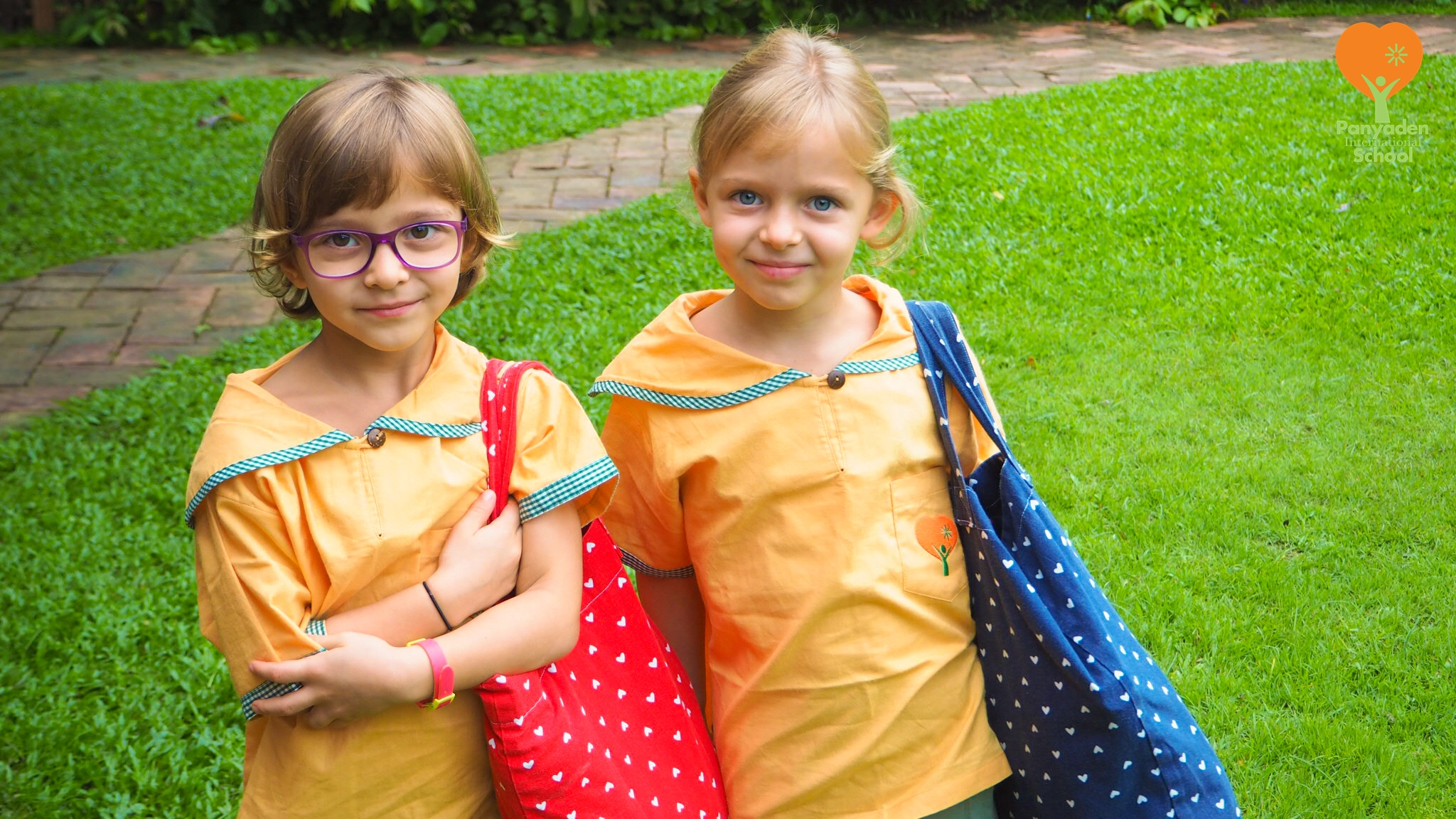 Back to school! Panyaden International School day 1, 2016-7, Chiang Mai