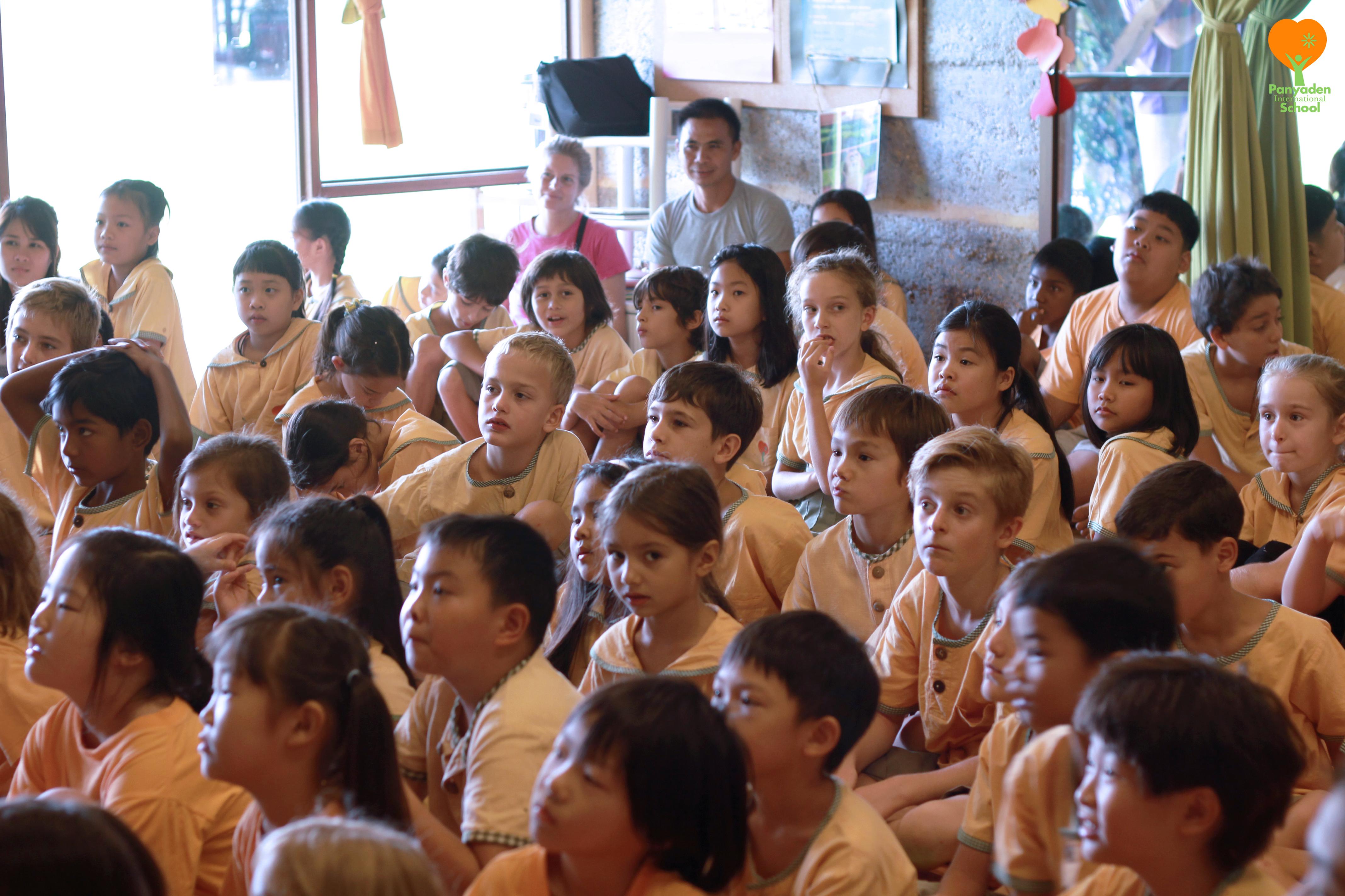 IMG_5339-logo Panyaden International School students at wise habit Avihimsa session
