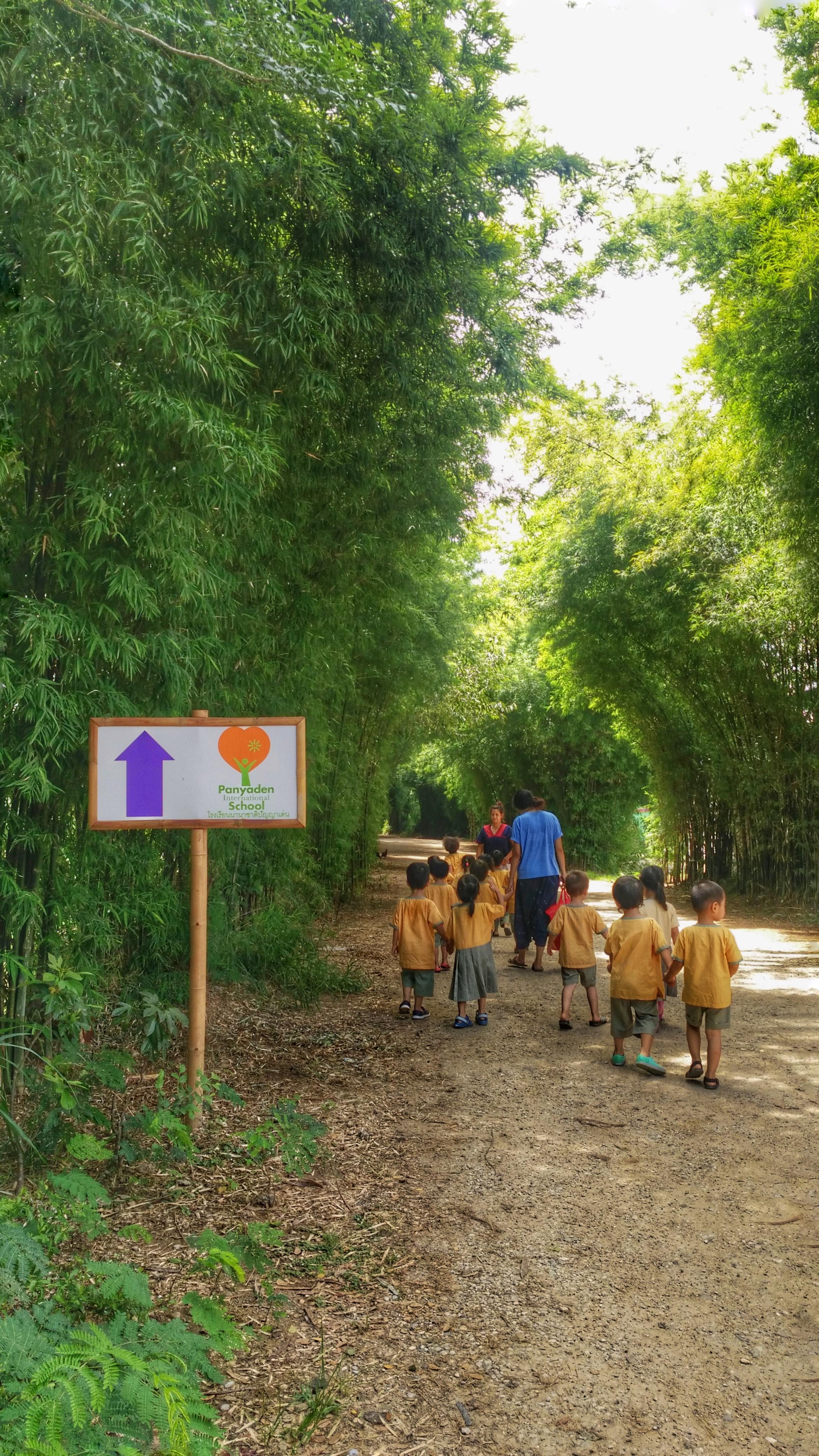 img_25590927_105339-01 Kindergarten 1 students walking back to school, Panyaden International School