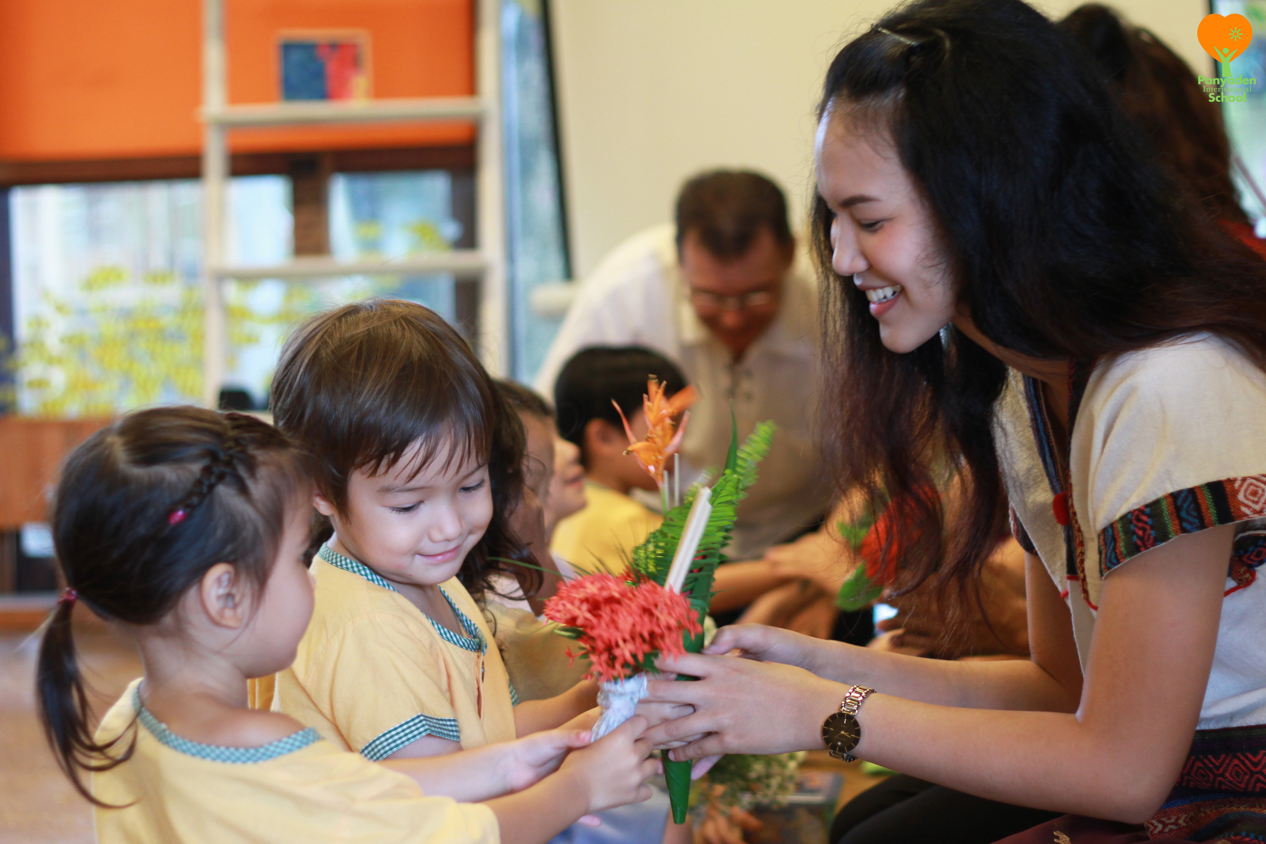 Panyaden International School Wai Kru Day 2016