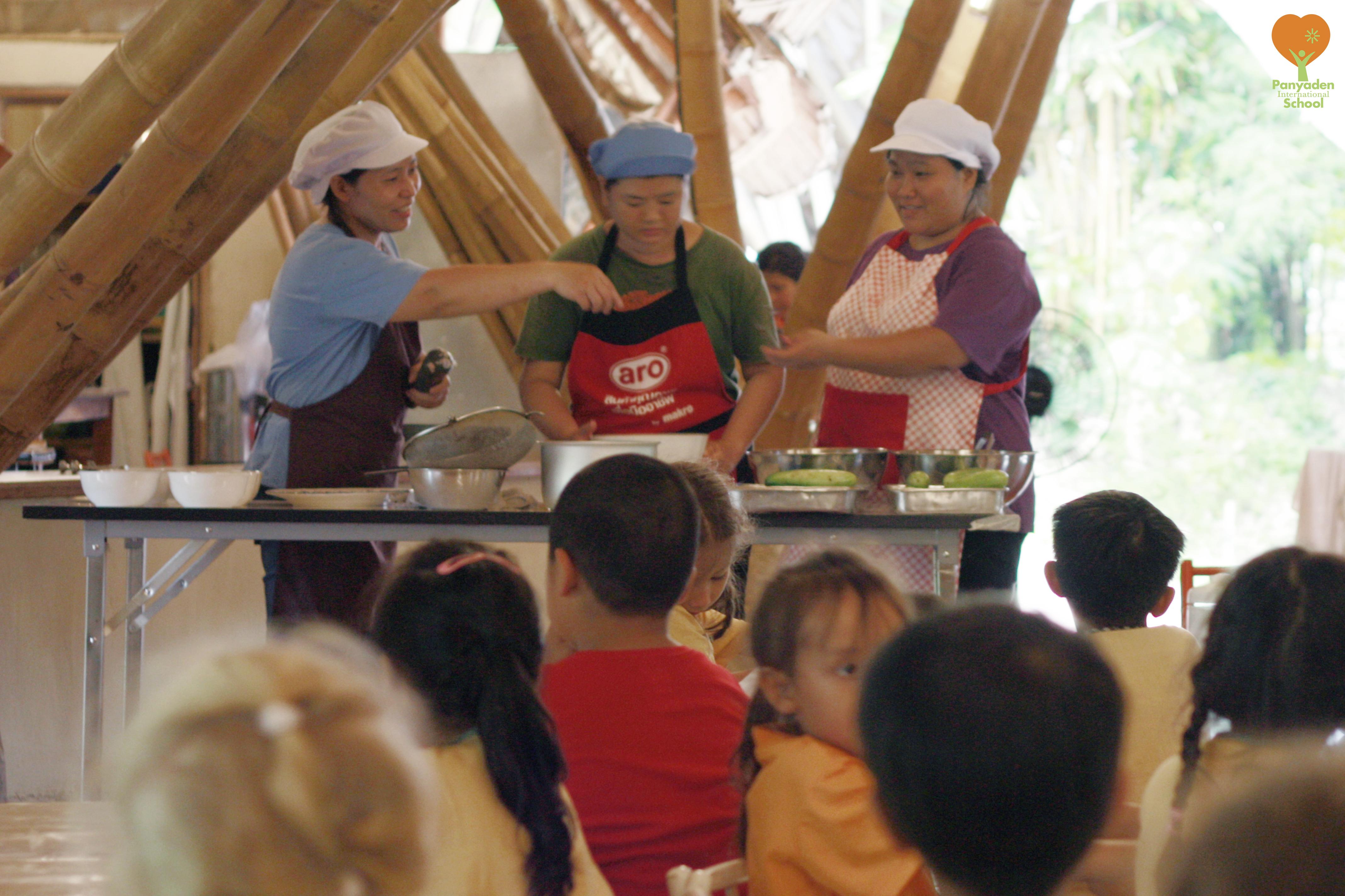 _mg_0412-logo Kindergarten 2 learn what a cook does, Panyaden International School