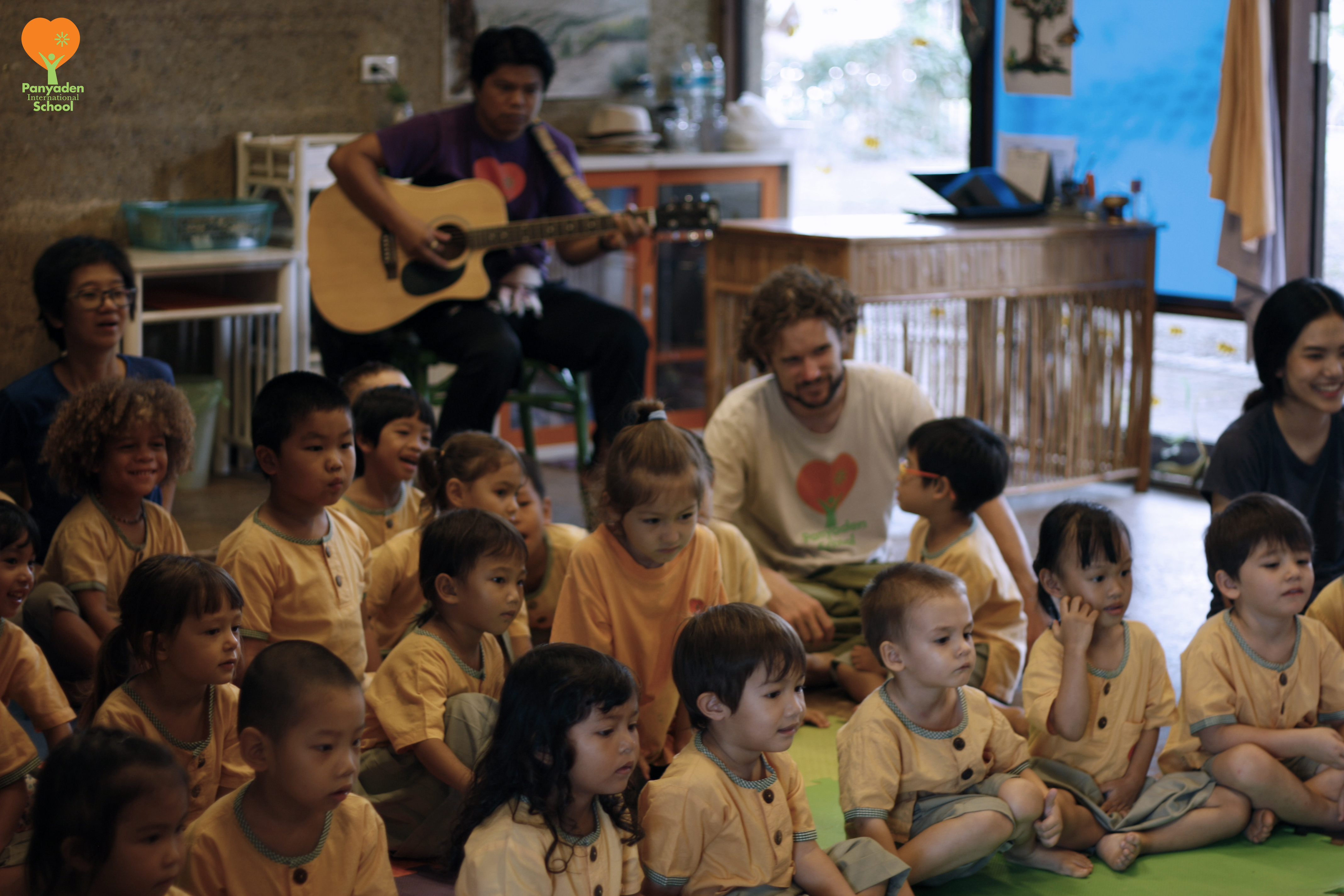 _MG_8998-logo Nursery and kindergarten children at Panyaden's 12 Wise Habits session