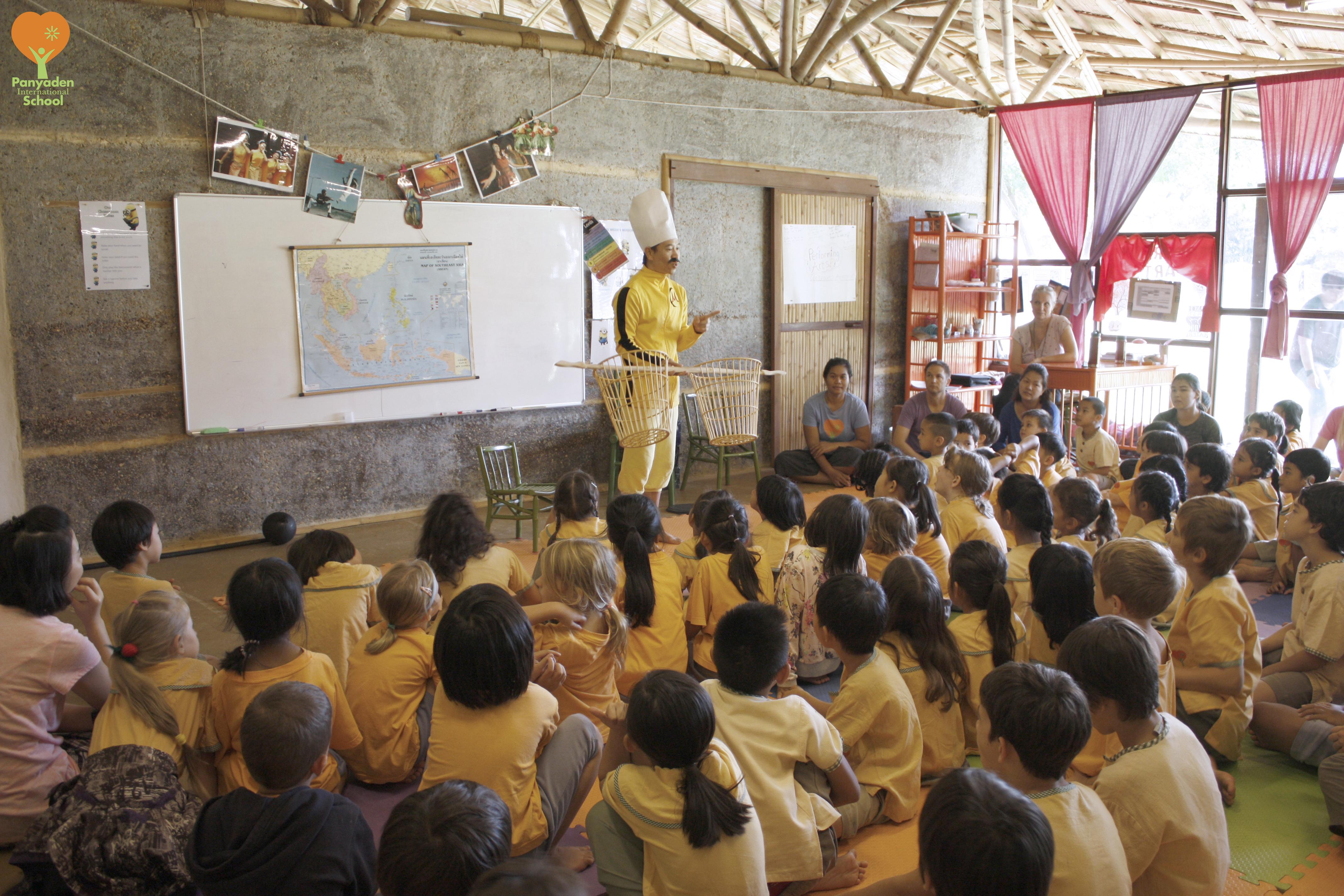 Panyden Wise Habit Mattannuta session at school
