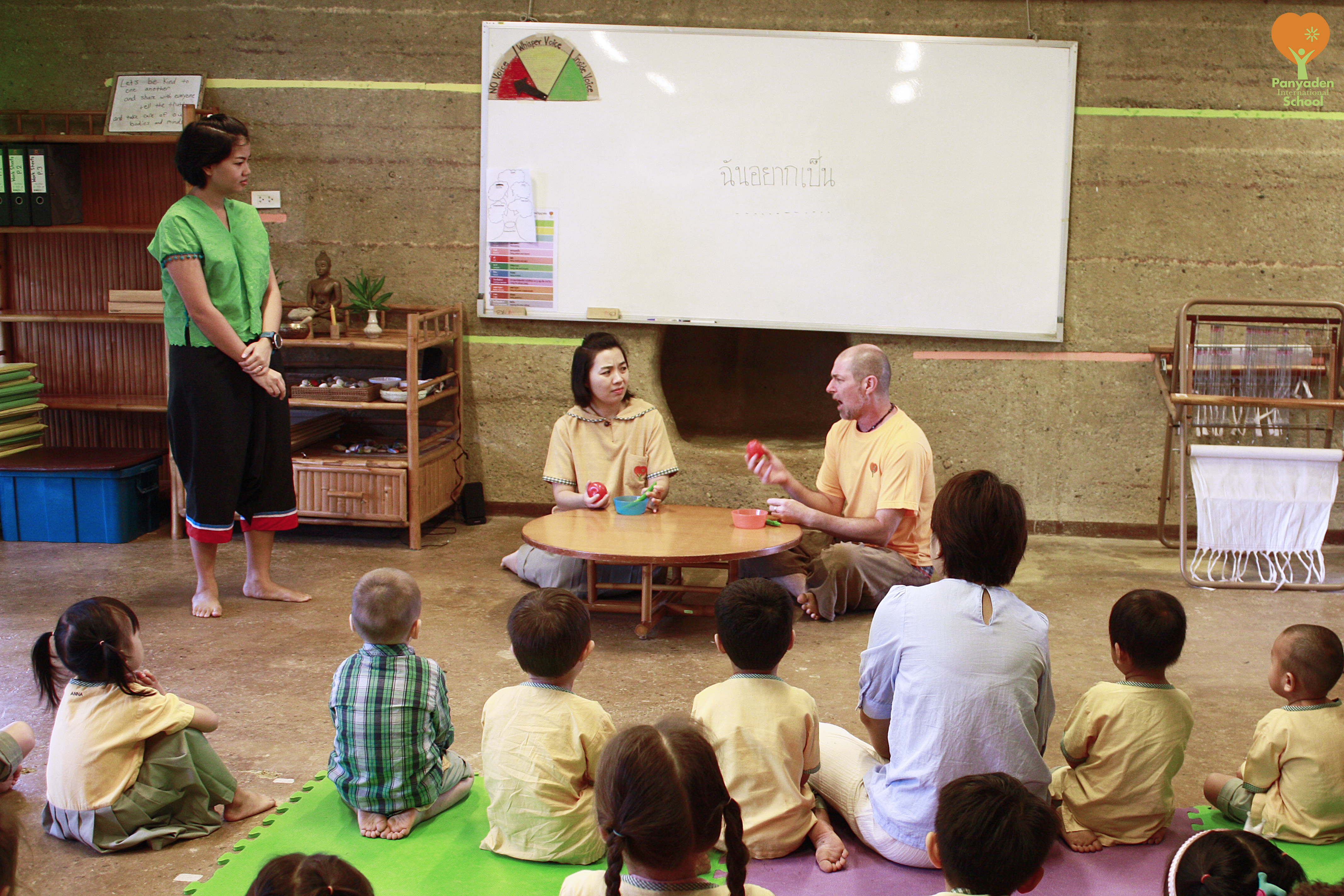 Healthy eating habits, Thai lesson for Panyaden International preschoolers