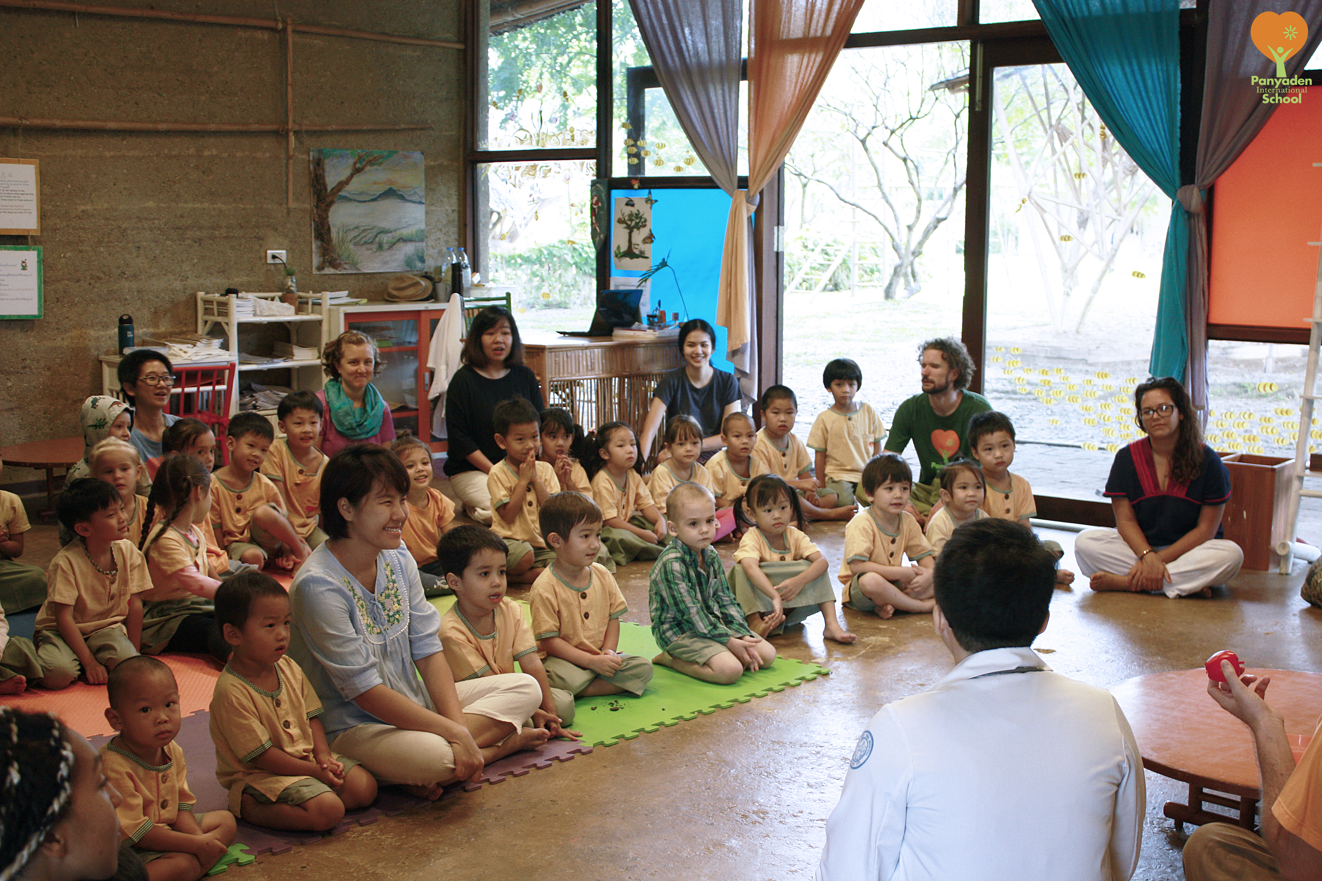 Fun Thai class on healthy eating for Panyaden's preschoolers