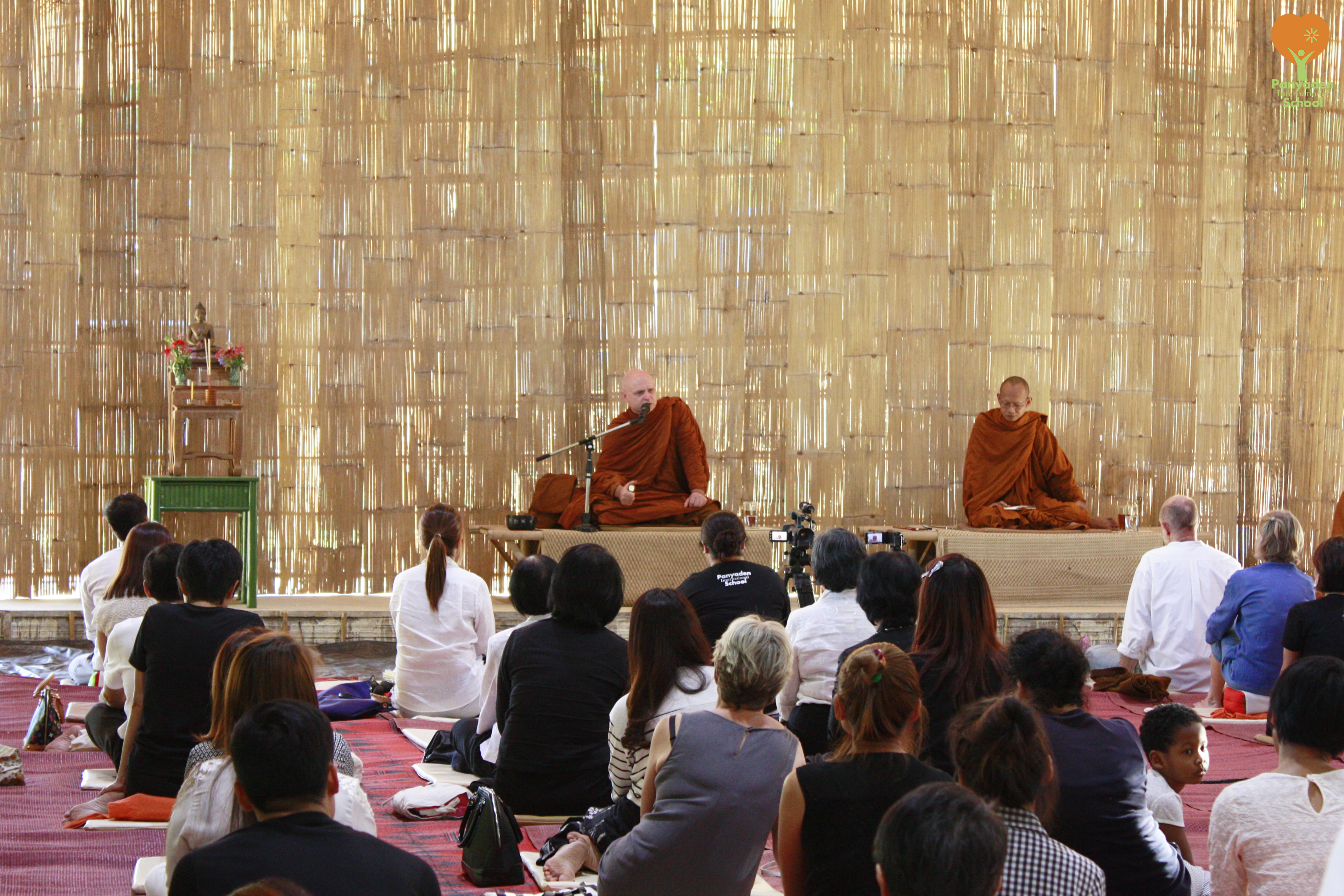 Dhamma Talk by Ven. AJahn Jayasaro at Panyaden International Schoolo