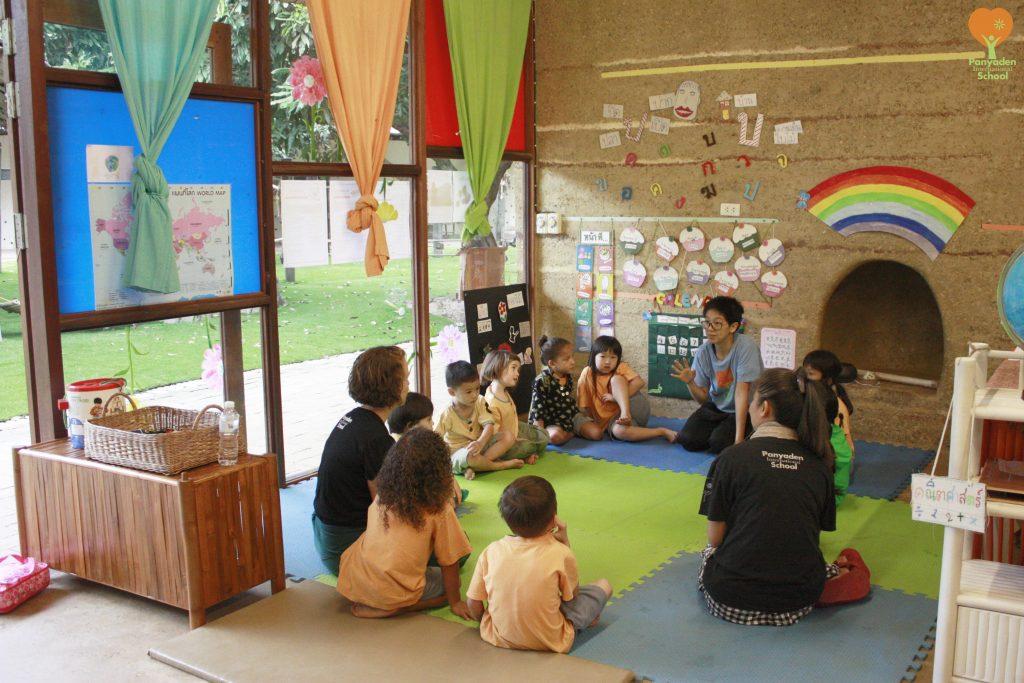 Class begins, Panyaden International School