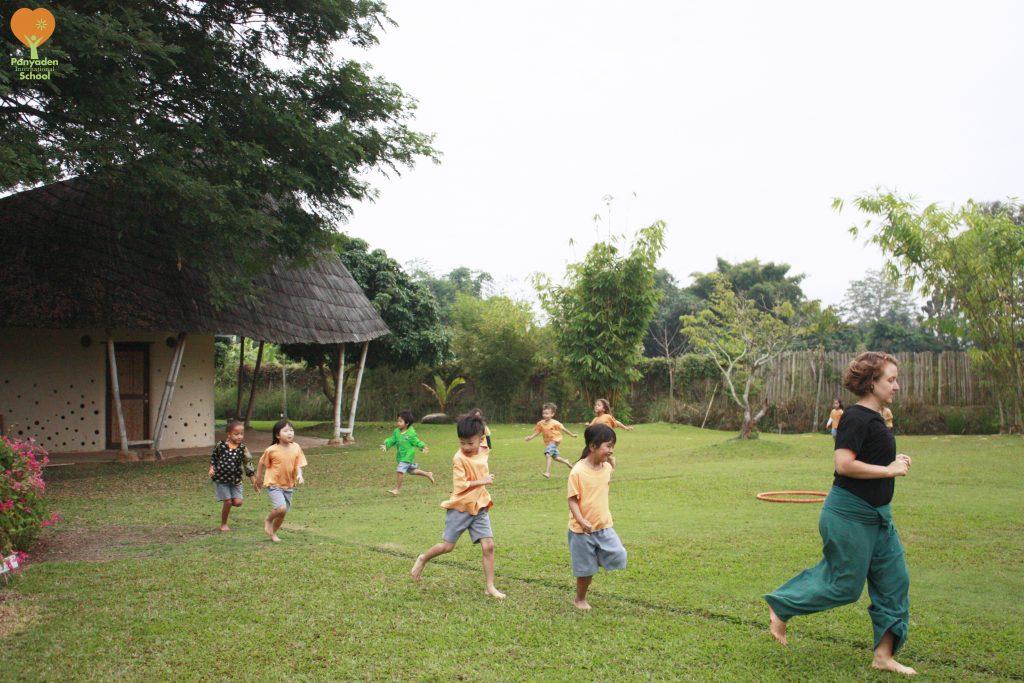 Morning activity, Panyaden International School
