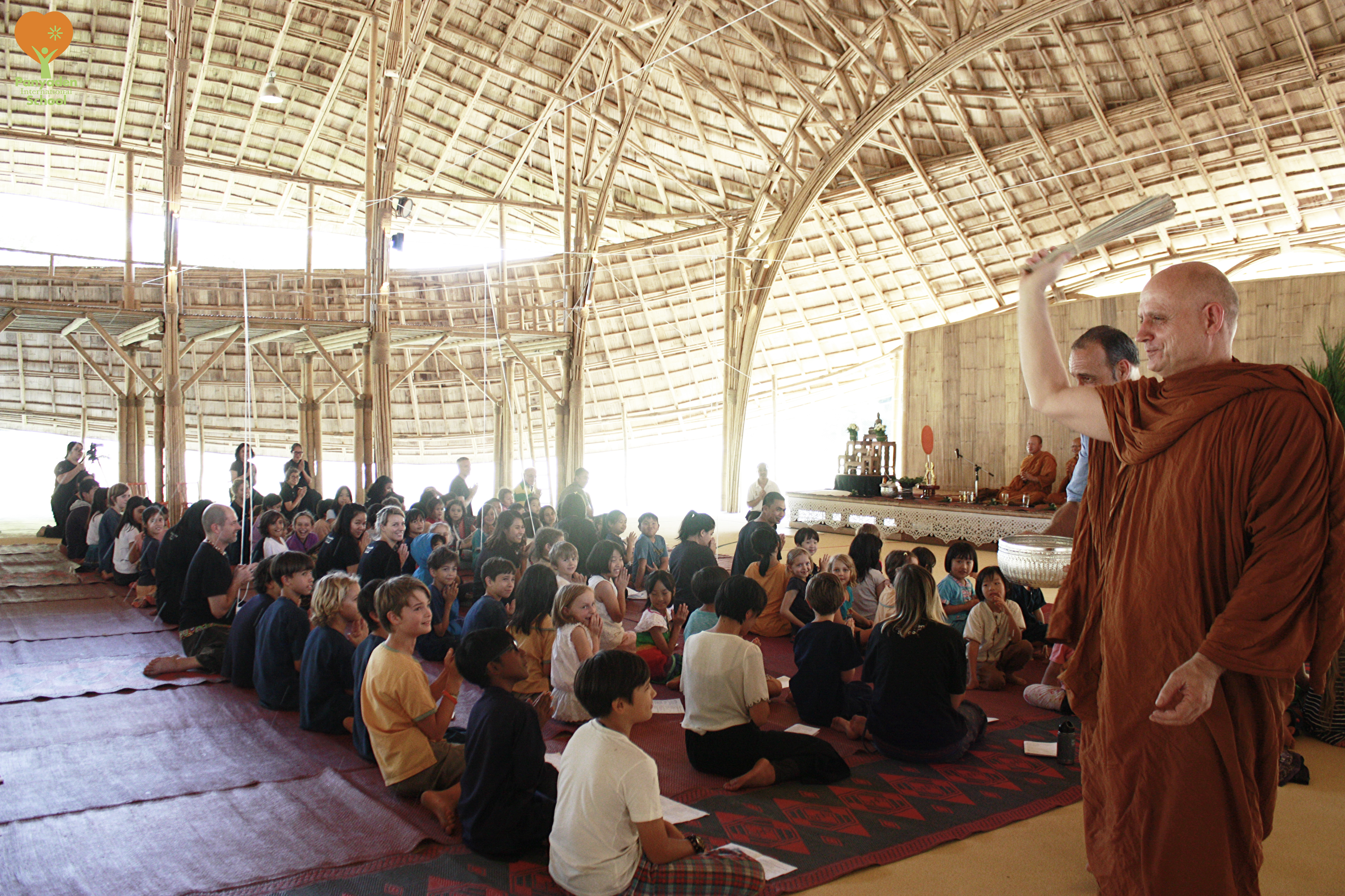 Buddhist blessings by Ajahn Jayasaro for Panyaden