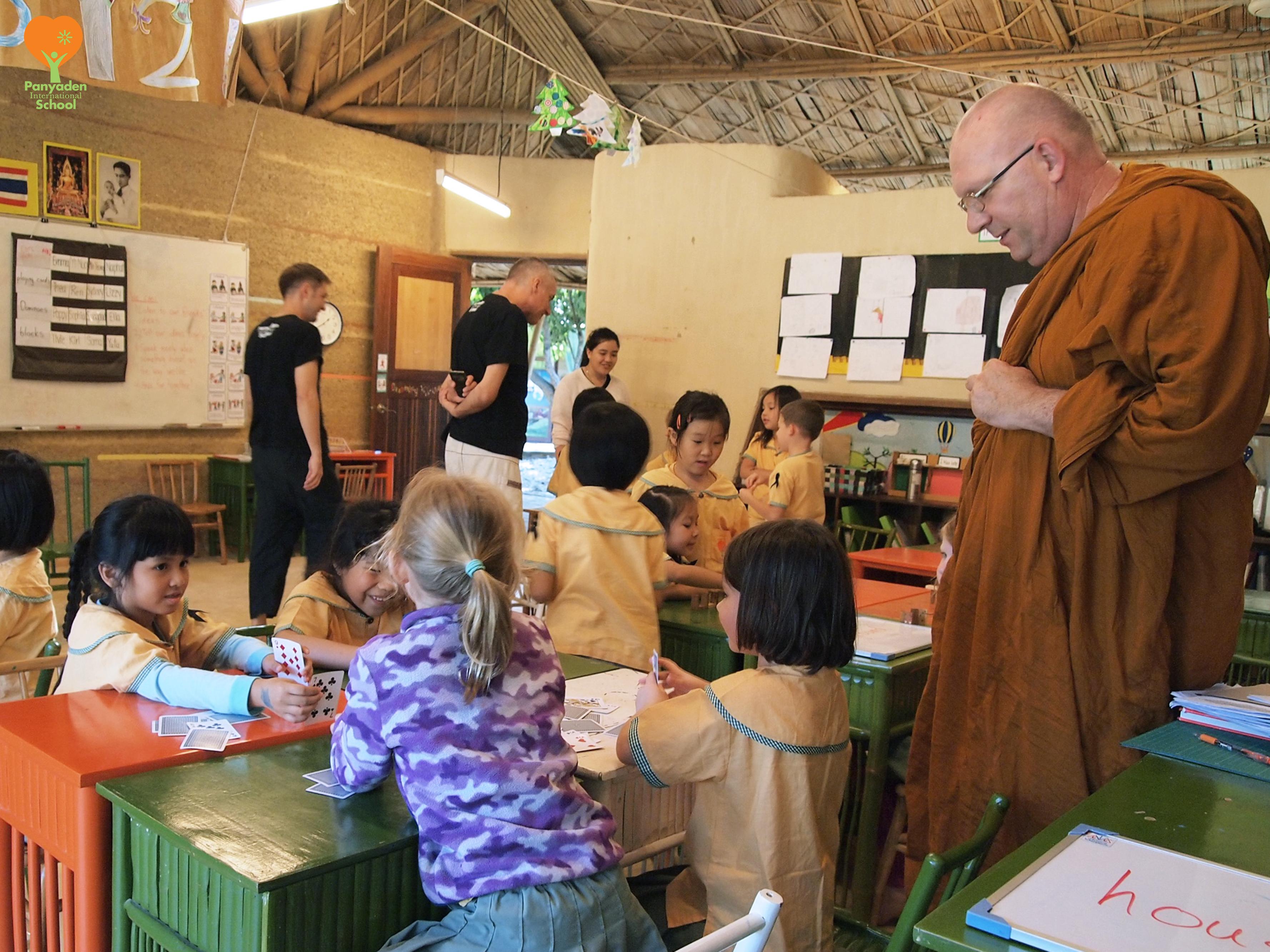 Ven. Ajahn Sukhacitto visits Panyaden International School