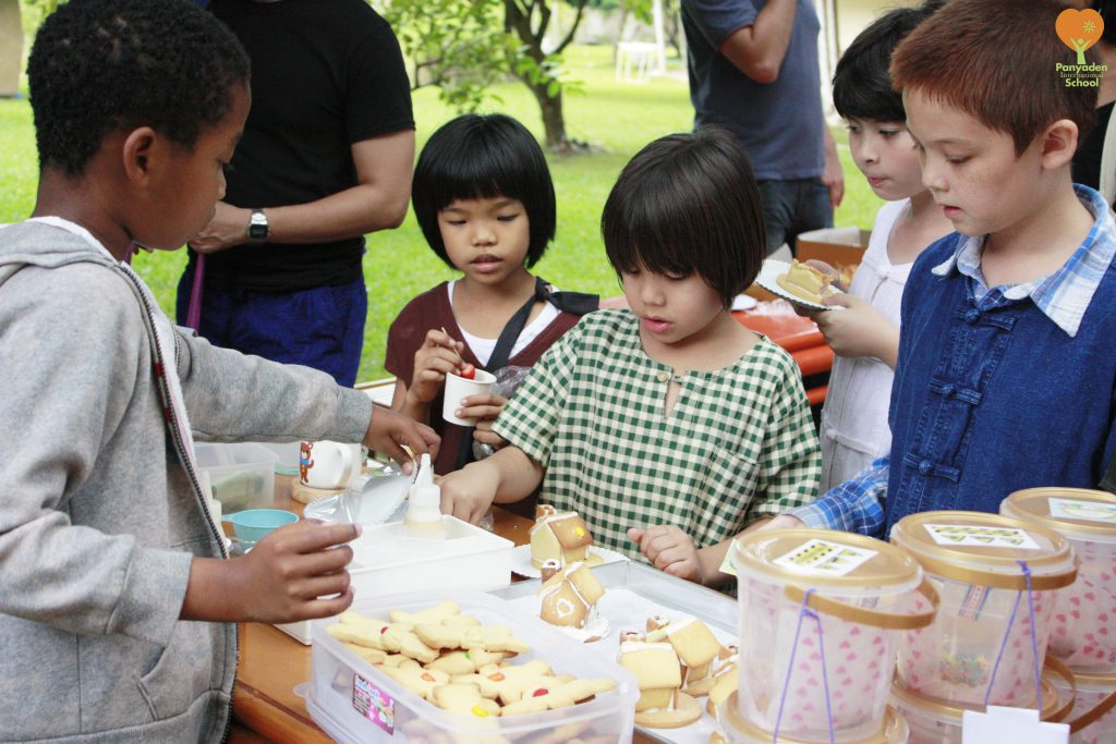 Flea market in aid of charity, Panyaden International School Giving Week