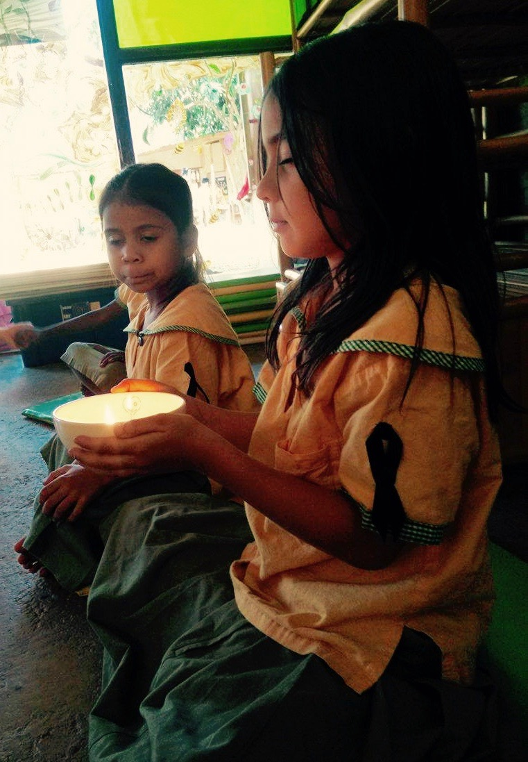 Year 1 mindfulness activity, Panyaden International School