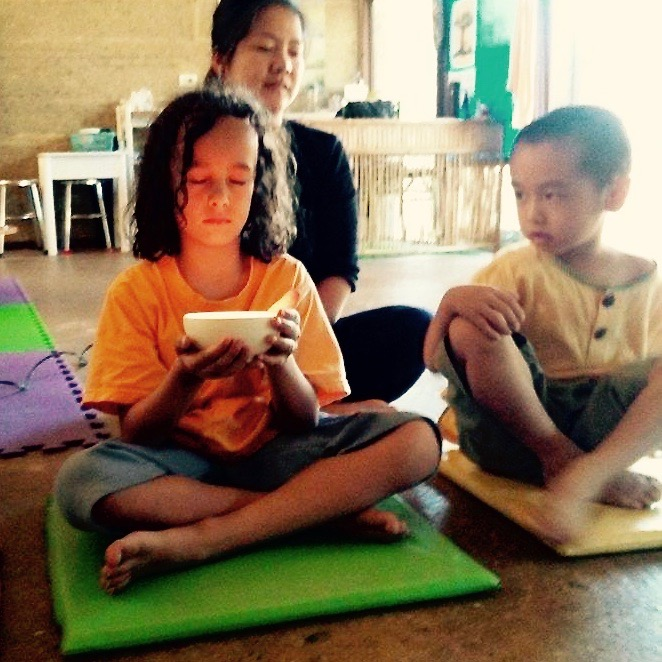 Panyaden International School Year 1 mindfulness activity
