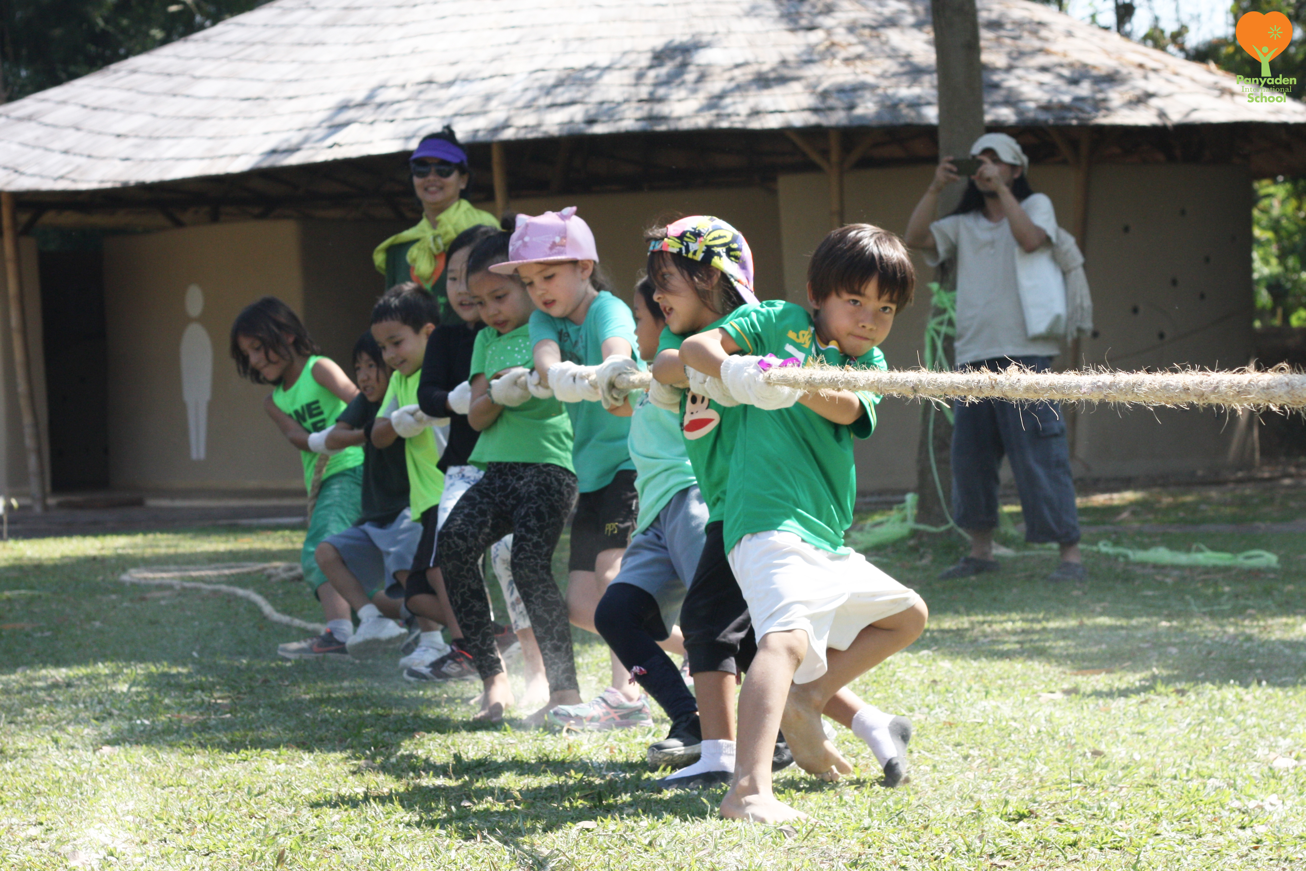Tug-of-war, Panyaden International School Sports Day 2017