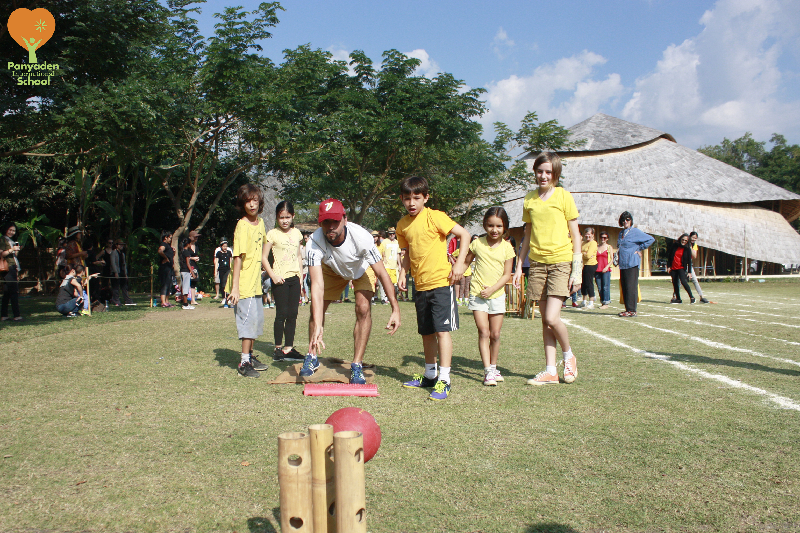 Fun game for our students, Panyaden SPorts Day 2017