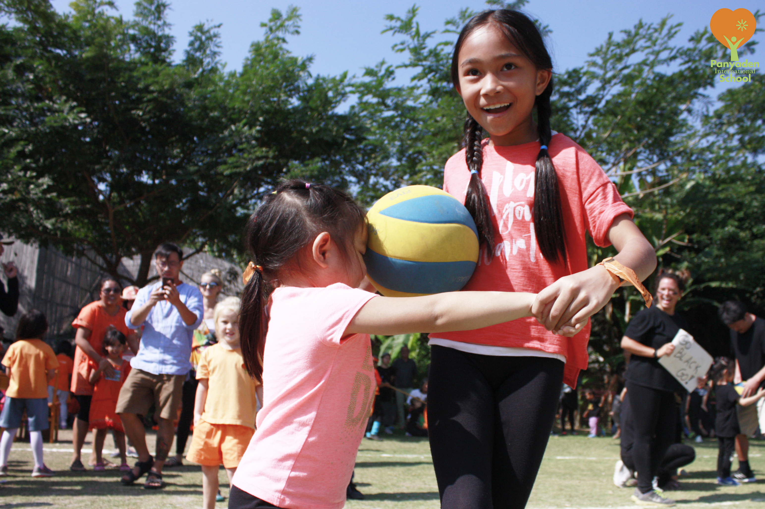 Panyaden students enjoying a game during the school's annual Sports Day 2017.
