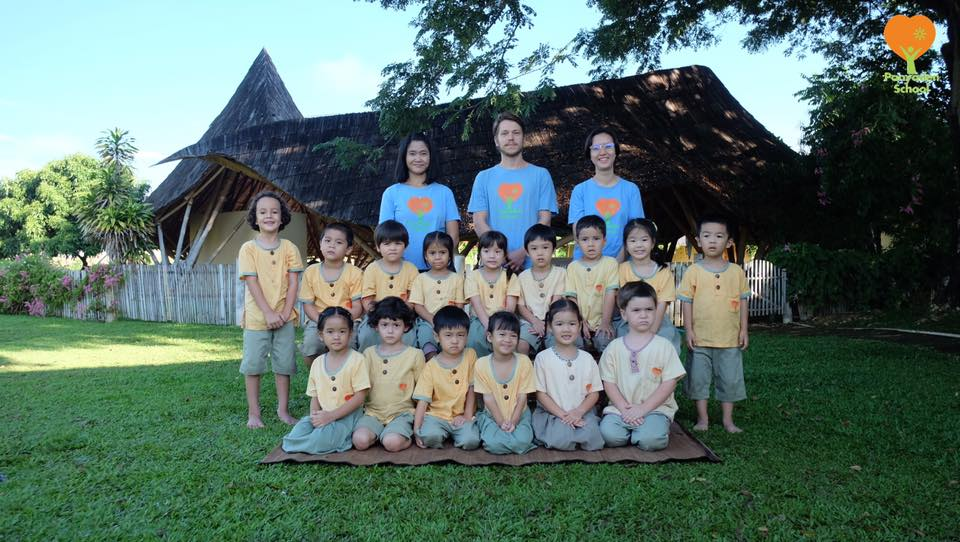 Panyaden International School class photo taken last year 2016