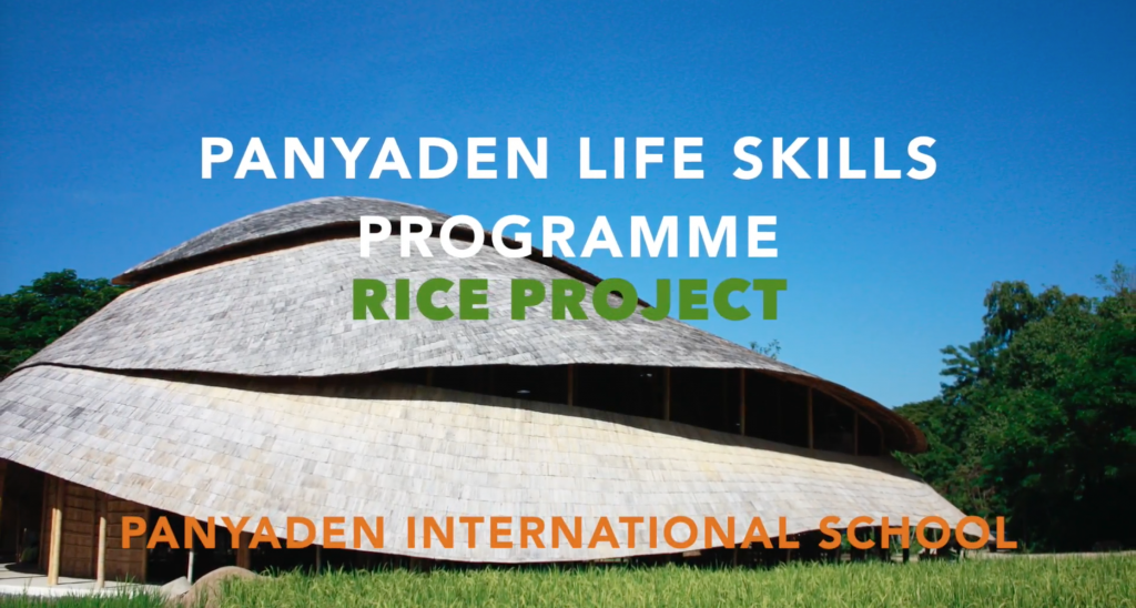 Panyaden Life Skills Programme: Rice Project (youtube video). Skills for Life.