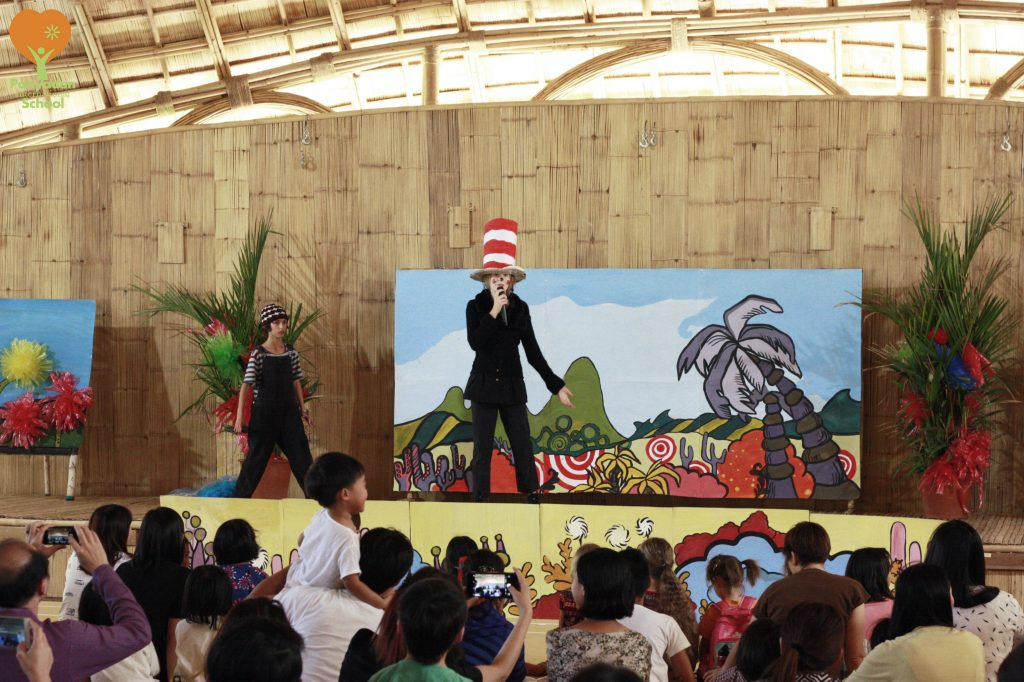 Panyaden Youth Theatre's production of Seussical The Musical - Jojo, the main character