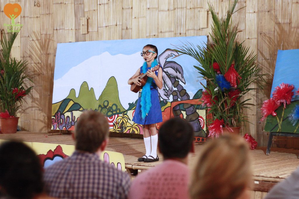 Panyaden Youth Theatre's production of Seussical The Musical - Solo by Panyaden primary student